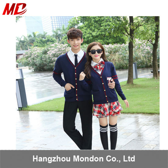 Cardigan High School College School Uniforms Design pictures & photos