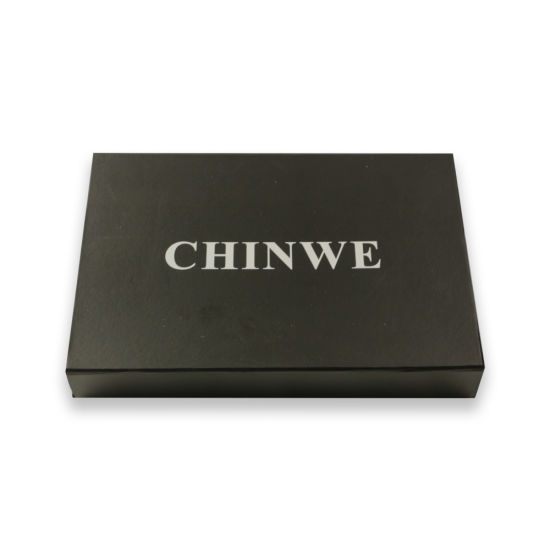 Luxury Custom Silver Stamped Paper Gift Box Packaging Box Printing pictures & photos