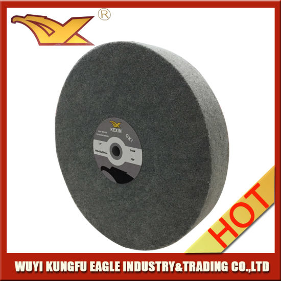 "10"" Nylon Wheel Non Woven Polishing Wheel (250X50mm, 7P) pictures & photos"