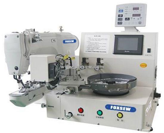 Auto Feeding Button Sewing Machine