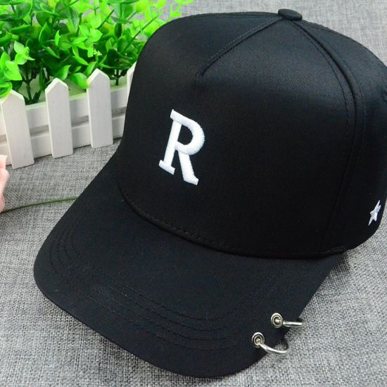 edf60801046 China Custom Black Cap 6 Panel Polyester 3D Embroidery Snapback Hat ...