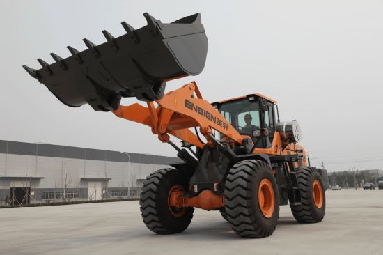 Ensign Wheel Loader 5 Ton Model Yx655 with Mechanical Control, 3.0 M3 Bucket and Weichai Engine pictures & photos