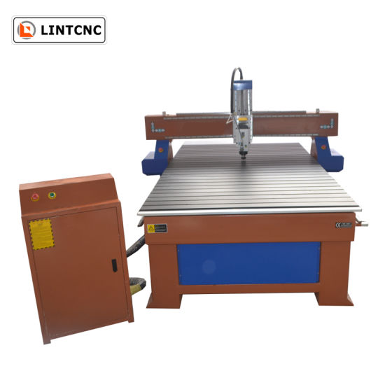 4*8 1300X2500mm 3.5kw Spindle Wood CNC Router for Engraving 3D Woodworking
