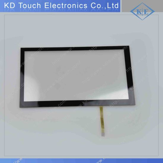 9 Inch Resistive Touch Panel with Cover Glass