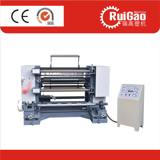 Aluminum Foil High Speed Paper BOPP OPP PE Roll Slitting Machine Price pictures & photos