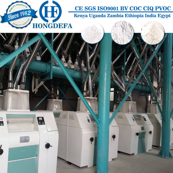Product manufacture equipment for flour and cereal
