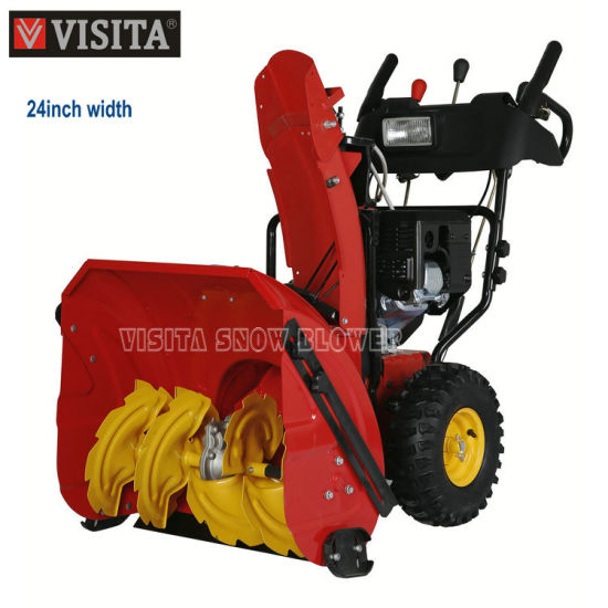 24inch 212cc Chain Drive Snow Thrower