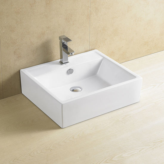 China Manufacturer Rectangle Cabinet Basin Sink pictures & photos