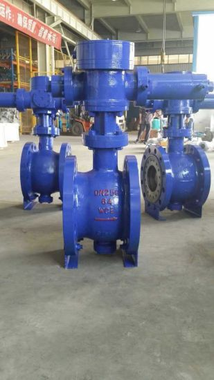 Electric Operated C Type Ball Valve pictures & photos