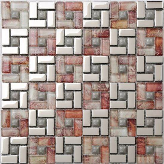 305X320mm Mosaic Tile with Saso (TB1218) pictures & photos