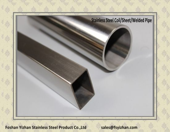 Stainless Steel Welded Round Tube for Stair Railing pictures & photos