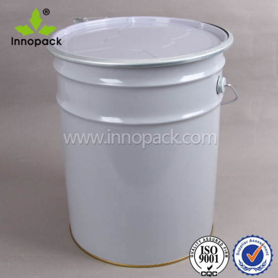 China Metal Barrel Buckets for Chemical Paint Coating