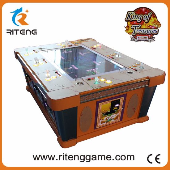 China USA Catch Fish Game Shooting with Ict Bill Acceptor