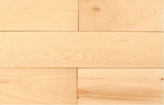 China Premier Grade Light Natural Maple Hardwood Flooring China