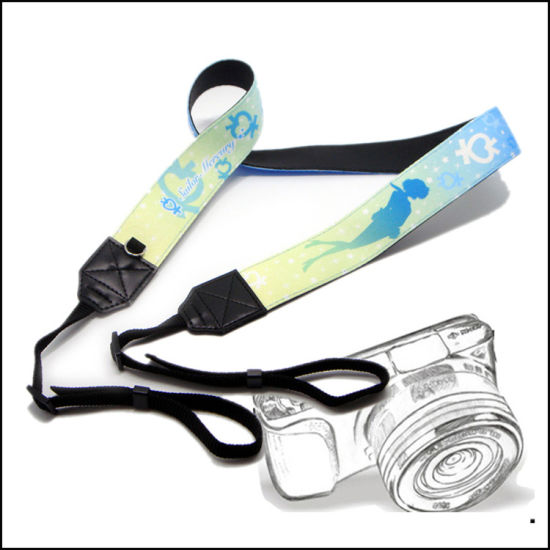 Wholesale Custom Logo/Design Polyester/Nylon Neck Lanyard Camera Strap for DC