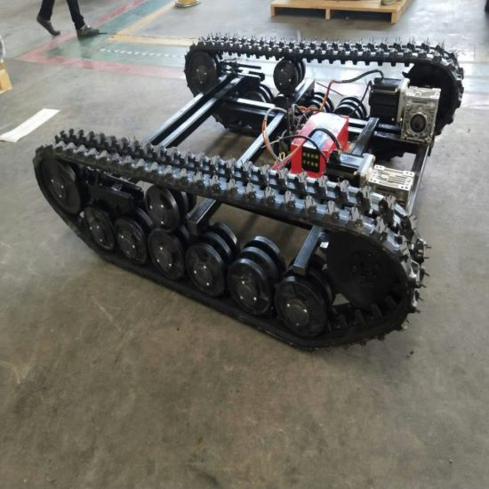 New-Design Dp-Py-148 Rubber Track Chassis for Carrying Goods