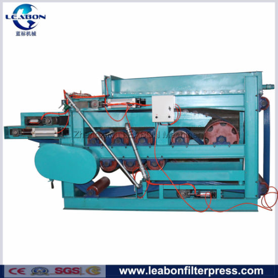 Gravity Belt Filter Press for Sewage Dewatering Waste Water Treatment