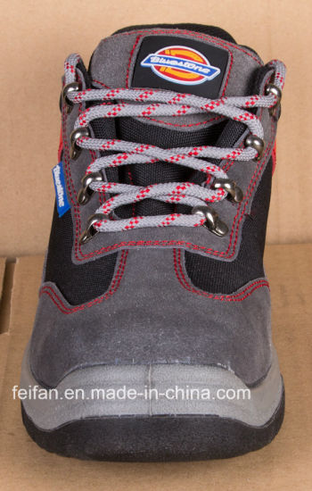 Suede Leather Shoe Mixed with Mesh Upper pictures & photos