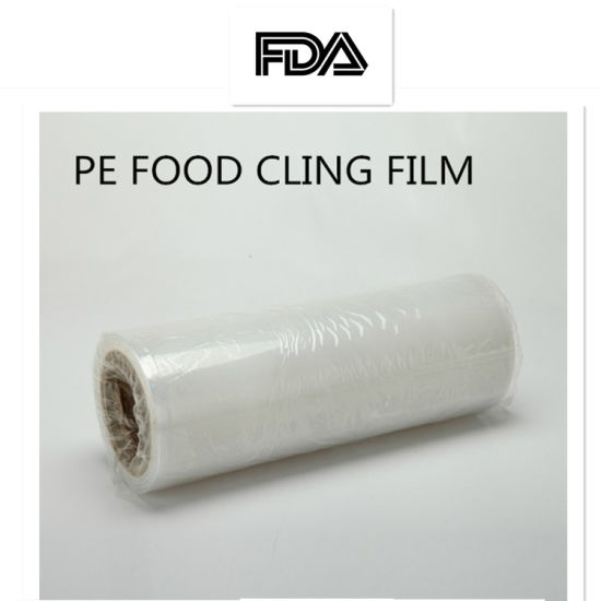 Food Grade Freezer Friendly Cling Wrap Soft Stretch Household Use Cling Film