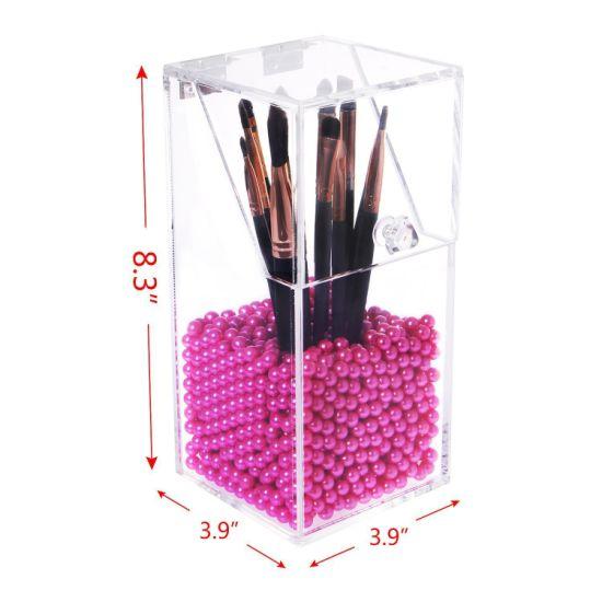 Clear Dustproof Plexiglass Cosmetic Storage Box/Acrylic