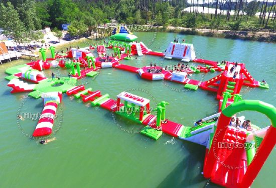 Commerical Adult Inflatable Floating Water Park for Sale pictures & photos