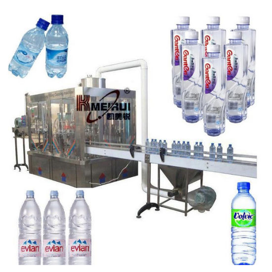 Xgf Series Automatic Mineral Water Filling Line