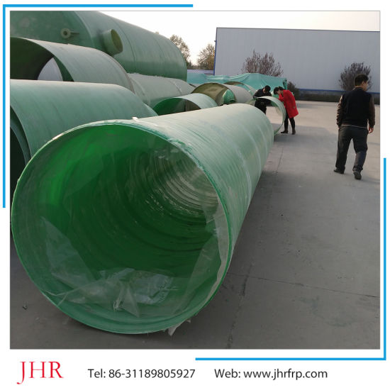 Underground FRP GRP Pipe, Potable Water/Gas/Oil/Chemical Pipe pictures & photos
