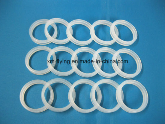 Food Grade Clear Silicone Rubber Gasket Sealing Ring for Kitchen Kettle pictures & photos