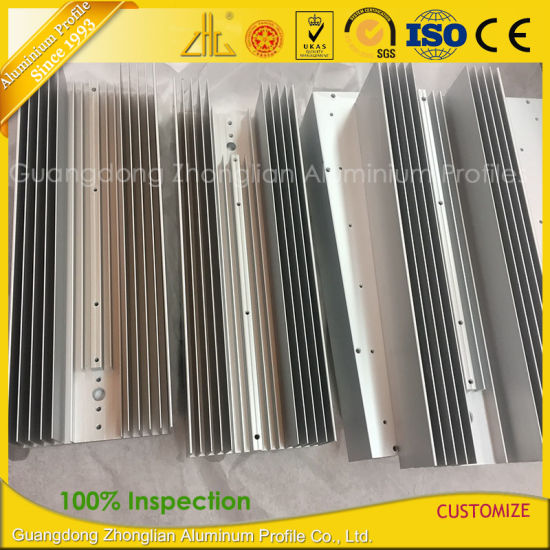 Aluminum Factory 6061 6063 Industrial Aluminium Extrusion Heatsink pictures & photos