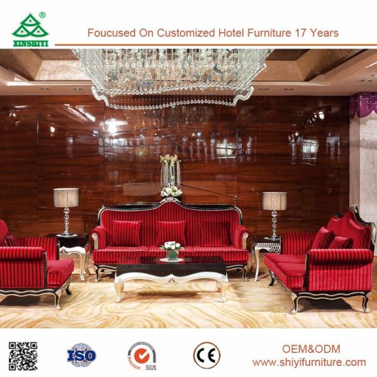 Sofa Living Room Furniture, Customized Leather Sofa pictures & photos
