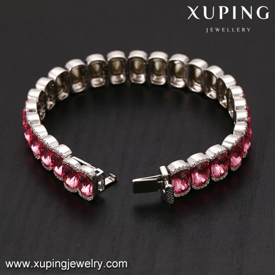 74721 Newest Platinum Fashion Diamond Bracelet with Crystals From Swarovski Jewelry pictures & photos