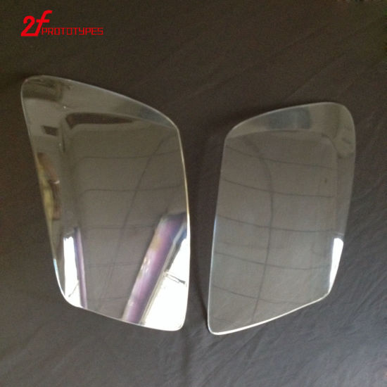 China Plastic Injection Molding ABS Chromed Plating Automotive Parts