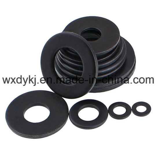 DIN 125 Carbon Steel Black Oxide Flat Washer