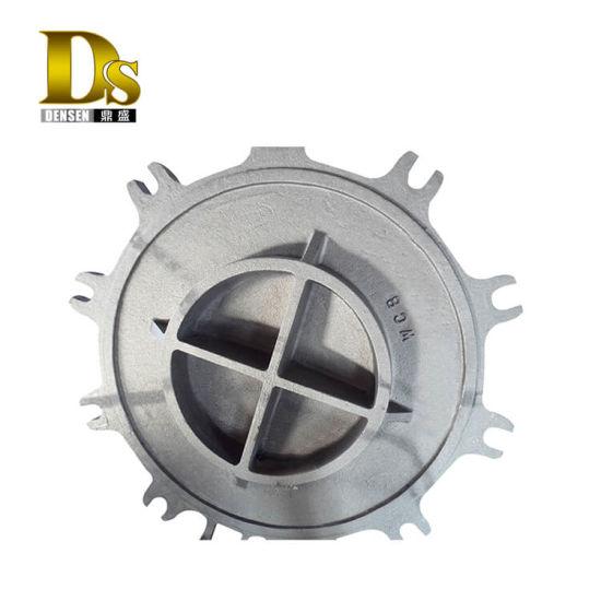 Densen Customized Super Large Cast Steel Part, Carbon Steel Cast Parts or Stainless Steel Casting, Huge Steel Casting