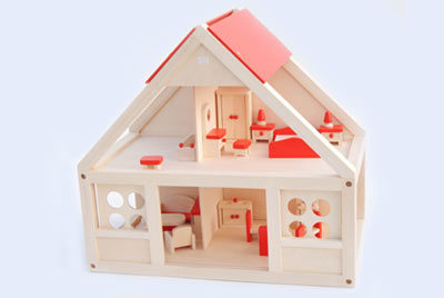 Wooden Toys, Wooded Doll's House, Kid Doll House