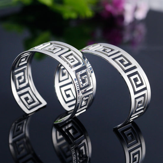 Foreign Trade New Style Ancient Style Great Wall Pattern Bracelet Lovers Bracelet pictures & photos