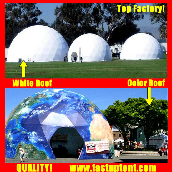 Manufacturer Aluminum Frame Diameter 8m Geodesic Dome Tent for Outdoor Catering