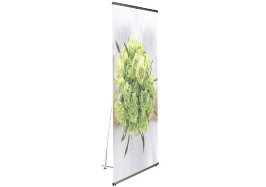 Indoor and Outdoor Display Stand- L Banner (DW-L-D (90*215CM))