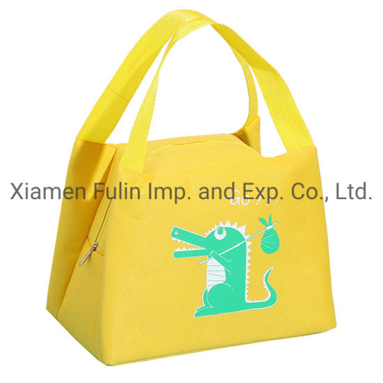 Animal Patterned High-Quality Waterproof Design Printed Lunch Picnic Tote Bag