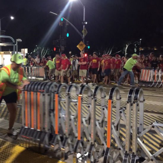 Nice Railing for Crowd Control and Makert Safety Distance Barrier