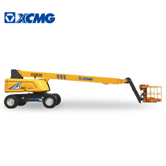 XCMG Official Xgs28 26m Boom Lift Portable Aerial Work Platform