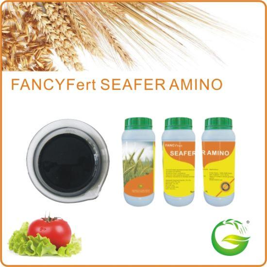 China 100% Water Soluble Seaweed Extract Liquid Organic Foliar