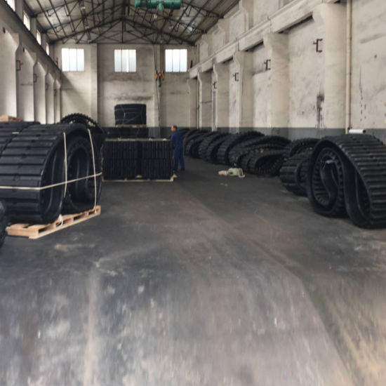 Rubber Track (381X101.6X42) for Track Loader (Cat 257, etc) pictures & photos