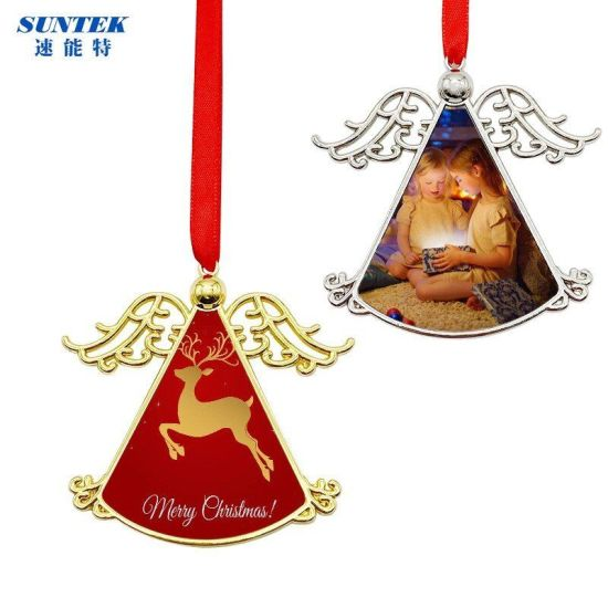 Sublimation Double-Side Metal Christmas Ornament - Wind Chimes