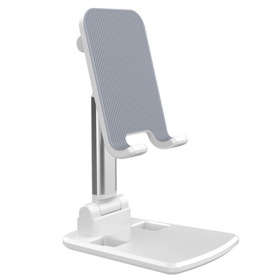 Small Size Adjustable Phone Holder Bracket Foldable Aluminum Alloy Mobile Phone Tablet Stand