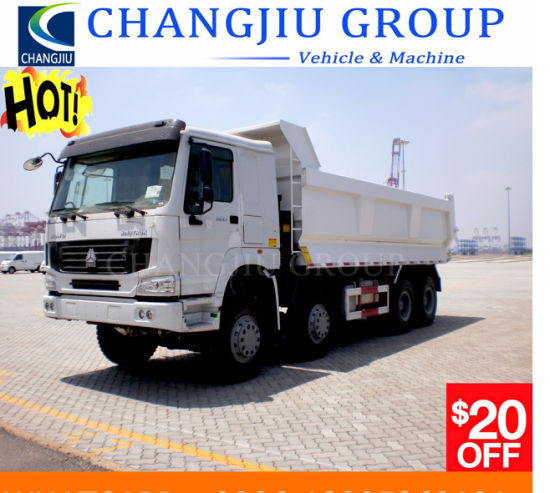 New Condition Used Dump Truck Tipper Truck HOWO 375HP 6X4 8X4 Rhd LHD 20t-50t Dump Truck with Competitive Price