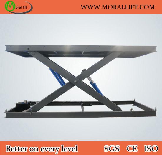 6 Tons Capacity Hydraulic Scissor Car Lift