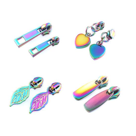 Custom Metal Zipper Puller High Quality Bag Zipper Slider for Handbag