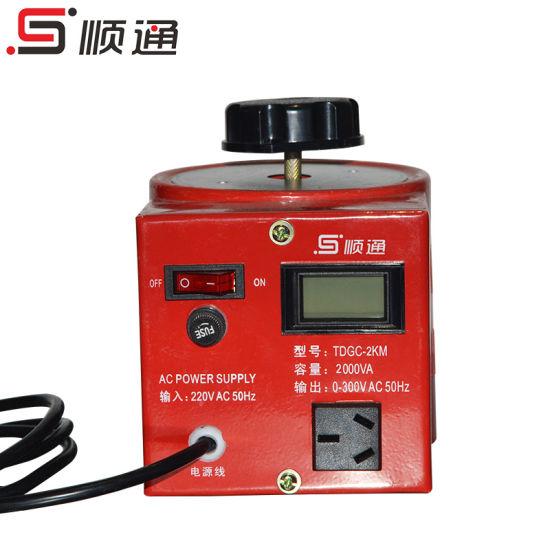 Tdgc/Tdgc2 Series Variac 2kVA Automatic Voltage Regulator
