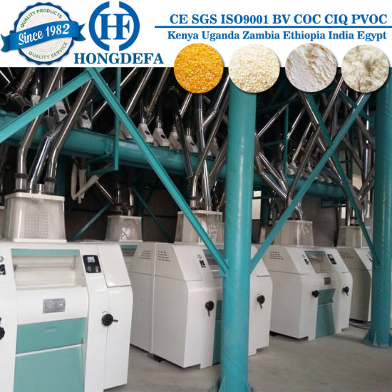 100tpd Complete Roller Flour Mill Plant pictures & photos